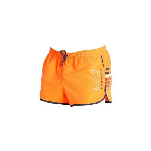 Bañador Corto EA7 Emporio Armani 902024 1P724 Color Naranja