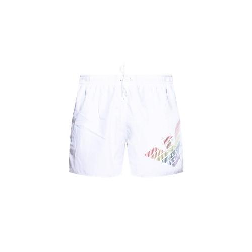 Bañador Boxer EA7 Emporio Armani 211733 1P423 Color Blanco