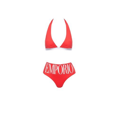 Bikini EA7 Emporio Armani 262533 1P324 Color Rojo
