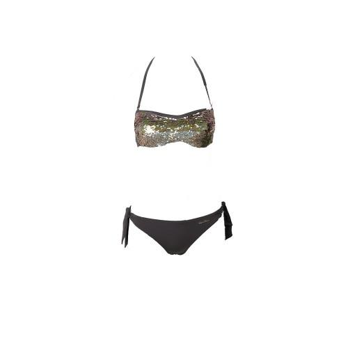 Bikini EA7 Emporio Armani 262636 1P311 Color Gris y...