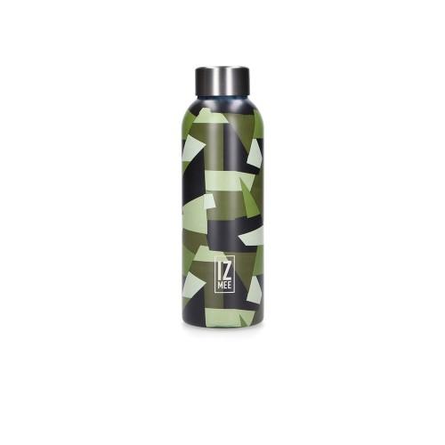 Botella Térmica IZ MEE Jungle Army Color Verde Mimético