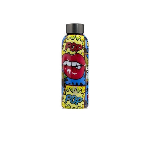 Botella Térmica IZ MEE Pop Lips Color Multicolor