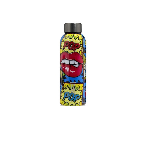 Bottle Thermal IZ MEE Pop Lips Color Multicolor