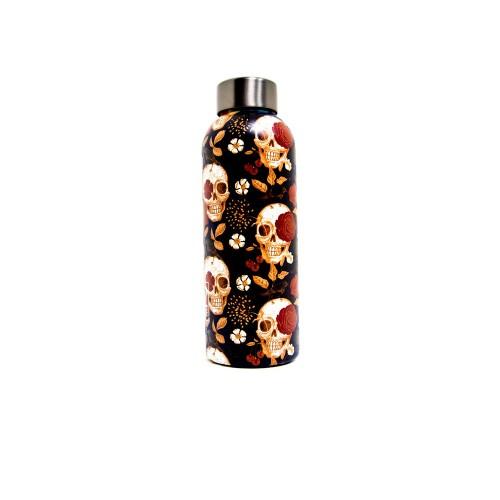 Botella Térmica IZ MEE Black Yard Color Estampado con...