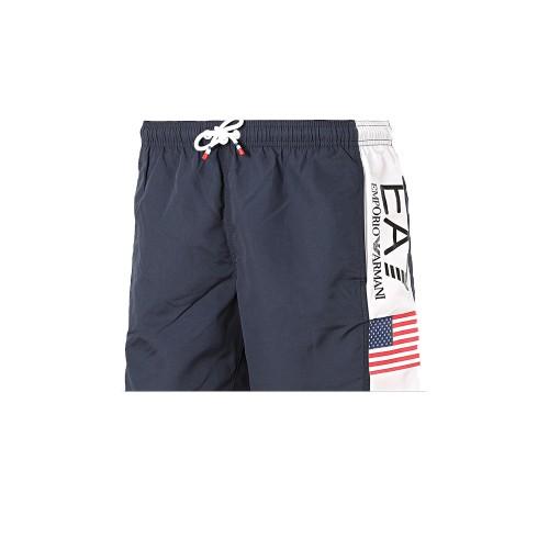 Bañador Boxer EA7 Emporio Armani 902044 0P729 Color Azul...