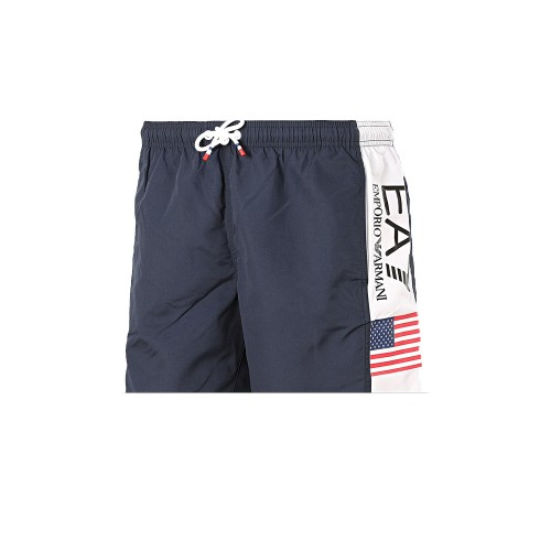 Boxer Swimsuit EA7 Emporio Armani 902044 0P729 Color Navy...