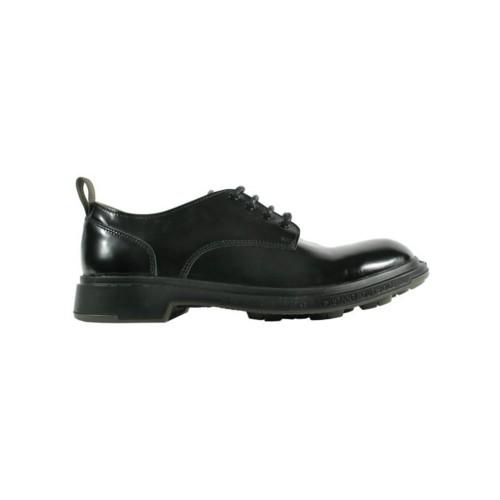 Zapatos de Piel Pezzol Royal Navy 042FZ-34 Color Negro