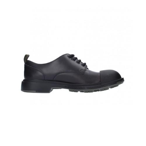 Zapatos de Piel Pezzol Scud 042FZ-27 Color Negro