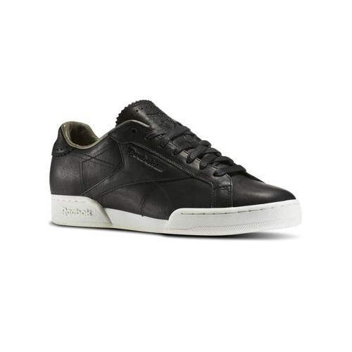 Sneakers de Piel Reebok NPC UK 11 HORWEEN AR1612 Color Negro