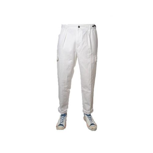 Pantalón PT Pantaloni Torino CO ZLCLZ0RFT Color Blanco