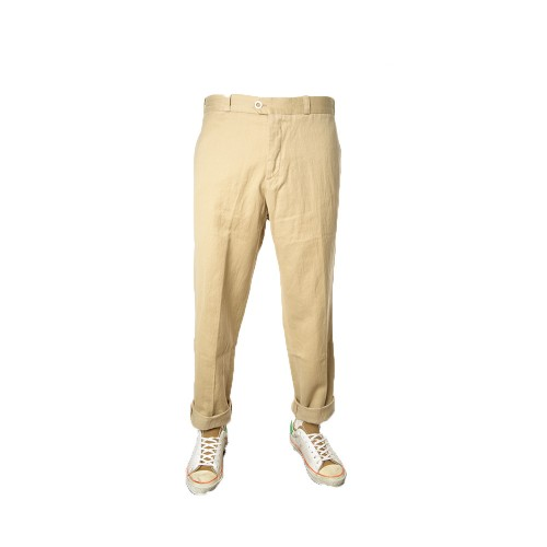 Pantalón PT Pantaloni Torino CO ALWRB00REW NU22 Color Beige