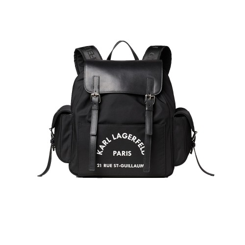 Mochila Karl Lagerfeld 96KW3057 RUE ST GUILLAUME Color Negro