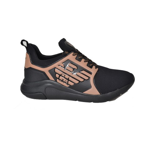 Sneakers EA7 Emporio Armani X8X057 XCC55 Color Negro y...
