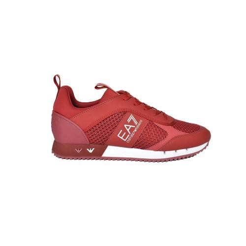 Sneakers EA7 Emporio Arman X8X027 XK050 Q214 Colore Granato