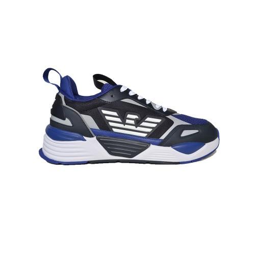 Sneakers EA7 Emporio Arman X8X070 XK165 Q242 Colore Blu