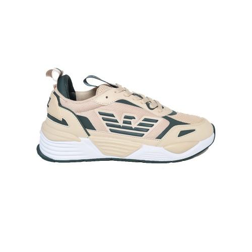 Sneakers EA7 Emporio Arman X8X070 XK165 Q245 Colore Beige...
