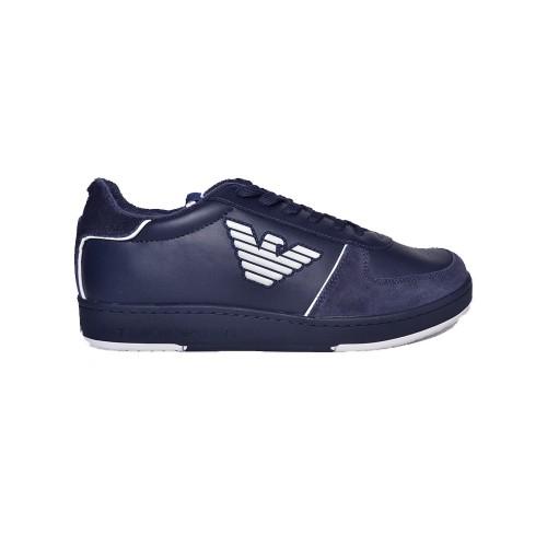 Sneakers in Pelle EA7 Emporio Arman X8X073 XK176 D813...