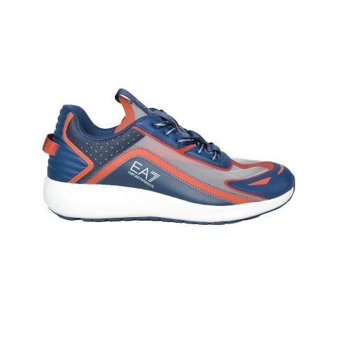 Sneakers EA7 Emporio Armani X8X077 XK188 Color Azul y...