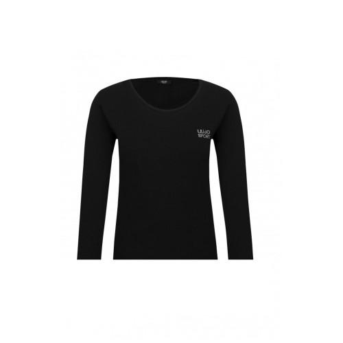 T-Shirt a Maniche Lunghe Liu·Jo J18133 Colore Nero