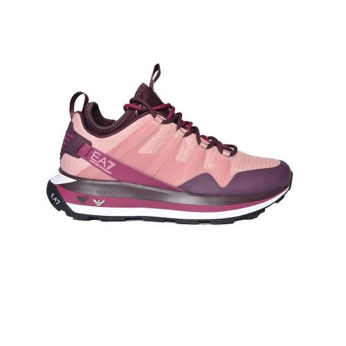 Sneakers EA7 Emporio Armani X8X088 XK233 Q288 Colore Rosa...