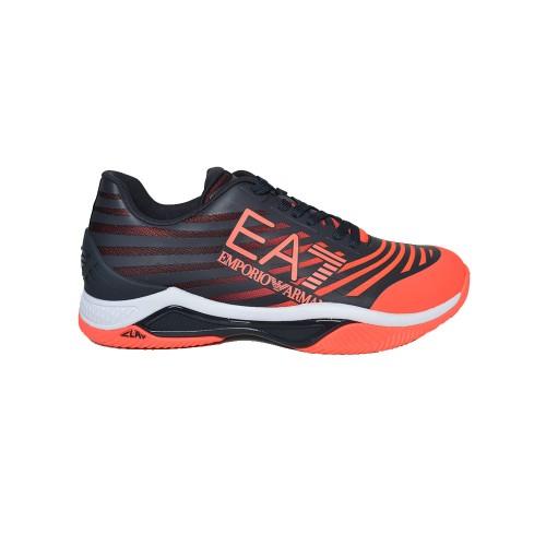 Sneakers EA7 Emporio Armani X8X079 XK203 Q249 Colore Blu...