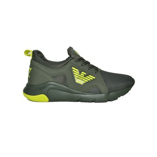 Sneakers EA7 Emporio Armani X8X056 XCC56 Q211 Colore Kaki