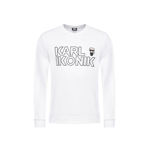 Felpa Karl Lagerfeld 705029 511900 Colore Bianco