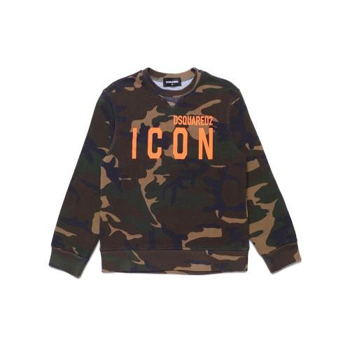 Sweatshirt DSQUARED2 DQ049U Color Mimtic