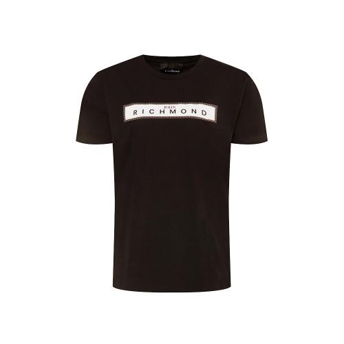 T-Shirt John Richmond Zelyaeva RMP20079TS Color Negro