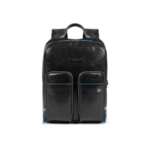 Leather Bacpack Piquadro CA5575B2V/N Color Black