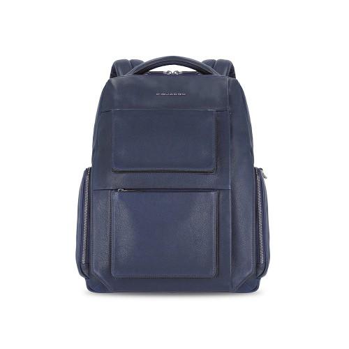 Mochila de Piel Piquadro CA5523W108/BLU Color Azul Marino