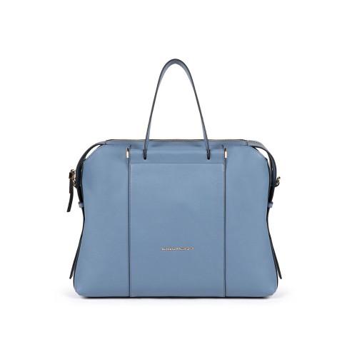 Maletín de Piel Piquadro CA4577W92AV2 Color Azul