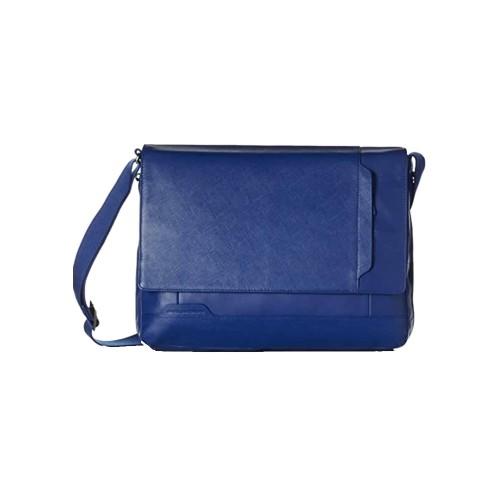Cartella in Pelle Piquadro CA3298S73/BLU2 Colore Blu