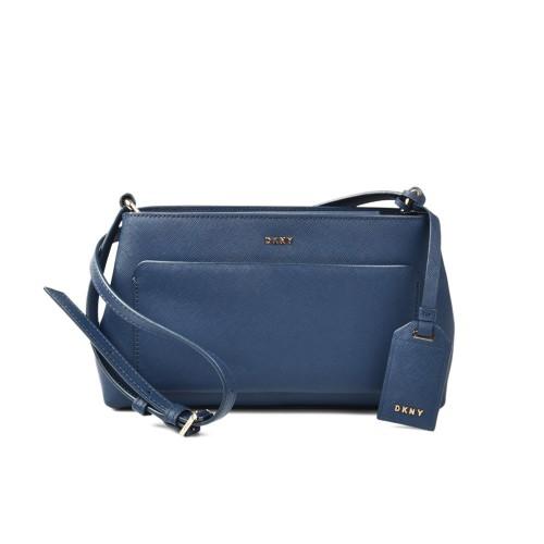 Bolso de Piel DKNY R361120202 Color Azul