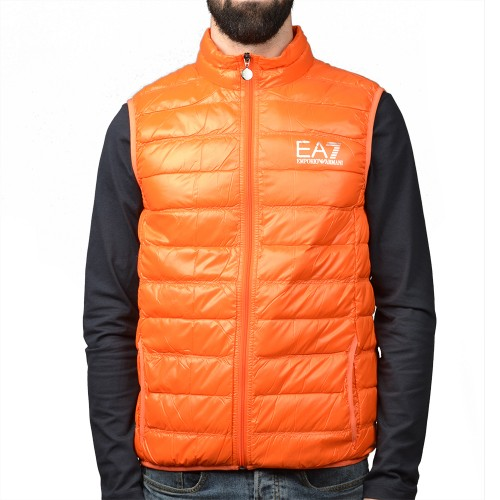 Chaleco EA7 hombre,naranja,modelo PN29Z