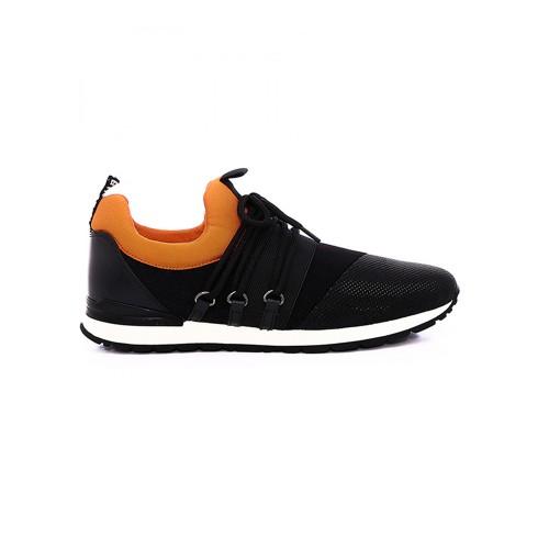 Sneakers Bikkembergs 101869 Color Negro y Naranja