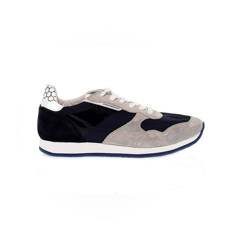 Sneakers Bikkembergs 108042 Color Azul Marino y Gris