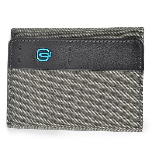 Portafoglio in Pelle Piquadro PU4455P16/CLASSY Color Gray