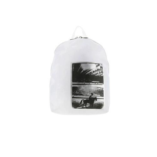 Mochila Calvin Klein Jeans K40K400874 Color Blanco