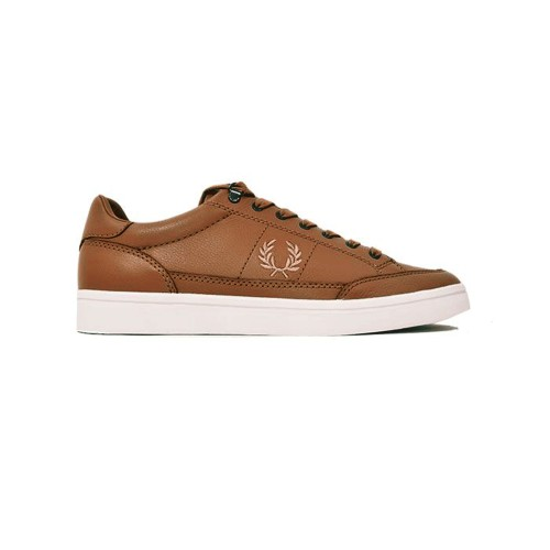 Sneakers de Piel Fred Perry B5120 Color Marrón