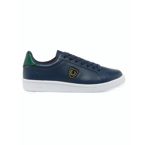 Sneakers de Piel Fred Perry B5179 Color Azul Marino
