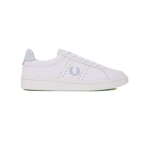 Sneakers de Piel Fred Perry B4320W Color Blanco