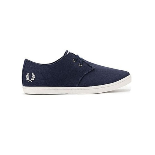 Sneakers Fred Perry B8233 Color Azul Marino