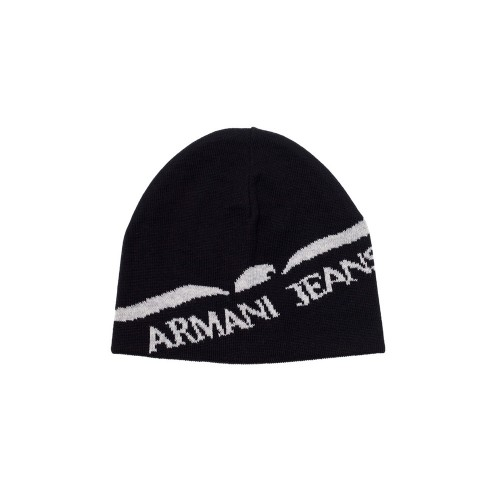 Gorro Armani Jeans CD119 Color Negro y Blanco