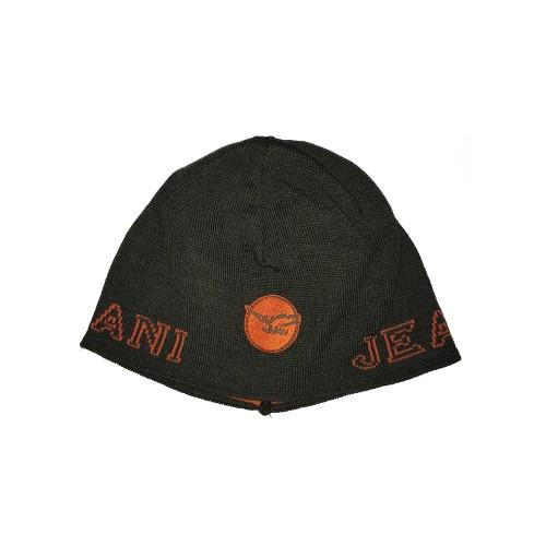 Gorro Armani Jeans CD123 Color Kaki y Naranja