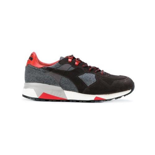 Sneakers Diadora Trident 90 Loden 172540  Color Marrón Gris