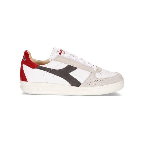 Sneakers Diadora B. Elite S L 172545 45043 Color Blanco y...