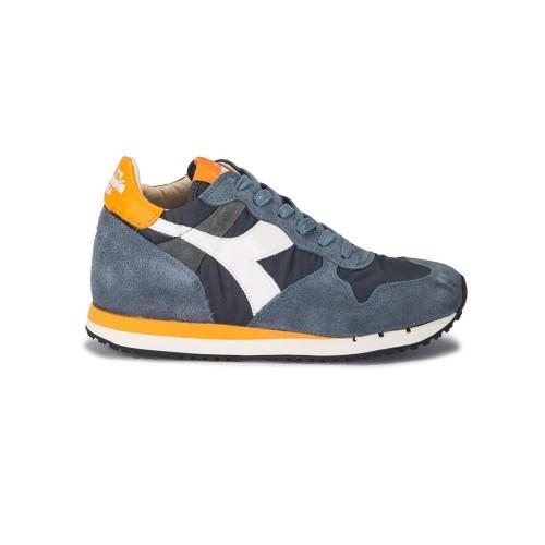 Sneakers Diadora Trident W Nyl 160445 C7143 Color Azul y...