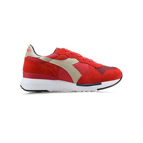 Sneakers Diadora Trident Evo 171864 C6689 Color Rojo y Gris