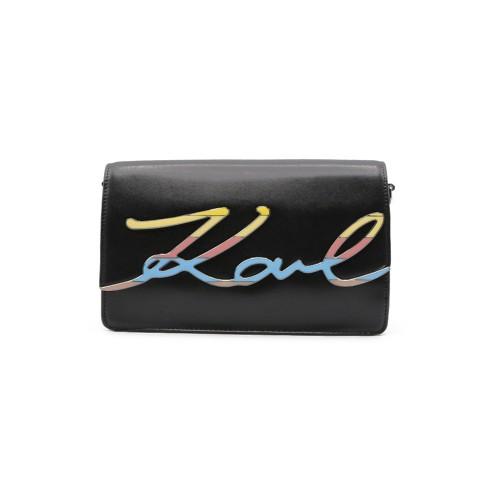Bolso de Piel Karl Lagerfeld 86KW3070 Color Negro y Logo...